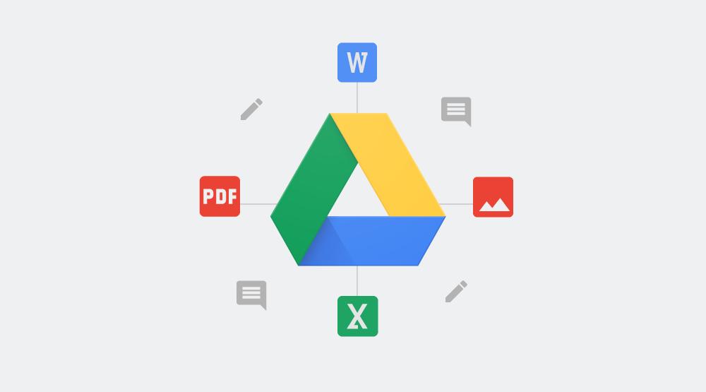 Google Drive ti permette di commentare documenti, immagini e pdf di Microsoft Office